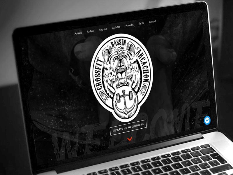 Création de site internet one page par abonnement mensuel